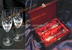 水晶香槟杯