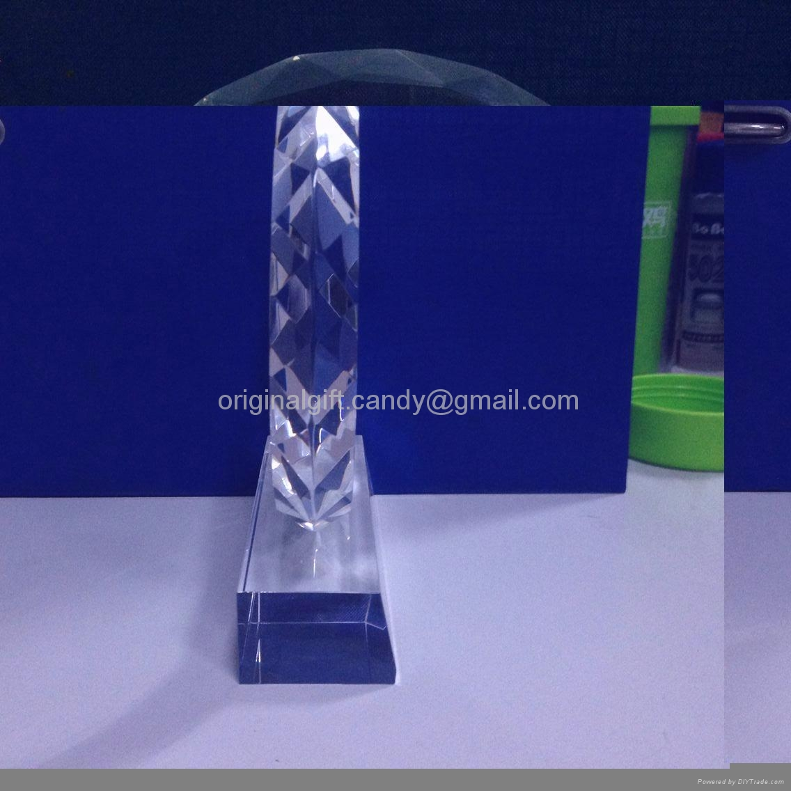 水晶獎牌,水晶獎座,現貨水晶獎牌,crystal trophy,crystal paper weight 3