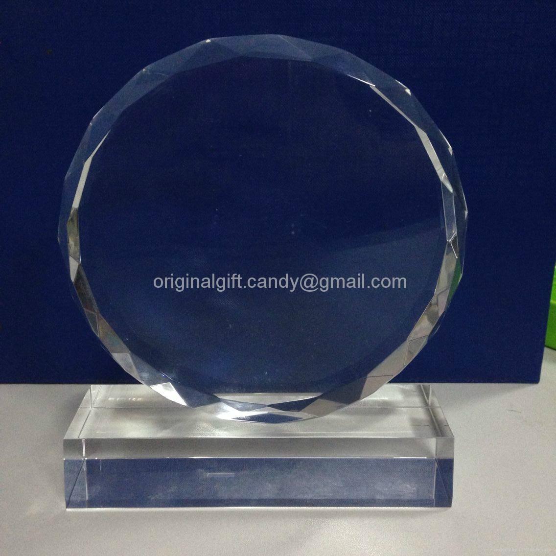 水晶獎牌,水晶獎座,現貨水晶獎牌,crystal trophy,crystal paper weight 1