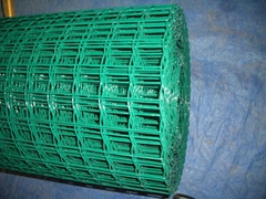 PVC coated and sprayed welded wire mesh