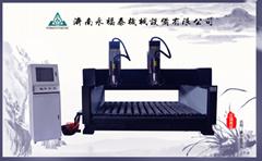 濟南永福泰2025豪華版雙頭石材雕刻機