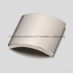 廣州磁鐵廠家直銷強力磁鐵,永磁同步電機磁鋼,耐高溫N35UH磁瓦磁鐵