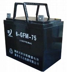6GFM-75铅酸蓄电池