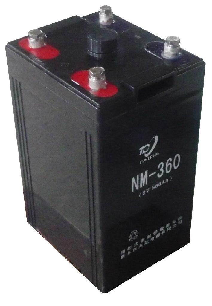 NM-360内燃机车用蓄电池 2