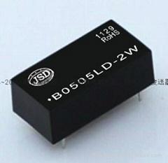 定电压输入非稳压隔离单输出DC-DC电源模块