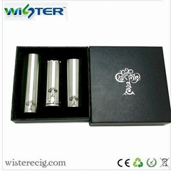 Wholesale engraved pattern tree of life mod kit with three tubes