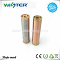 Hot selling stainless steel copper slo'jo mechanical mod clone