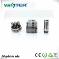 Airflow holes control mephisto rda atomizer clone