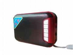 便携式插卡收音机音箱