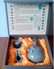 陝西工藝品 皮影 瓦當商務禮品