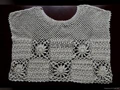 手工钩针编织毛衣