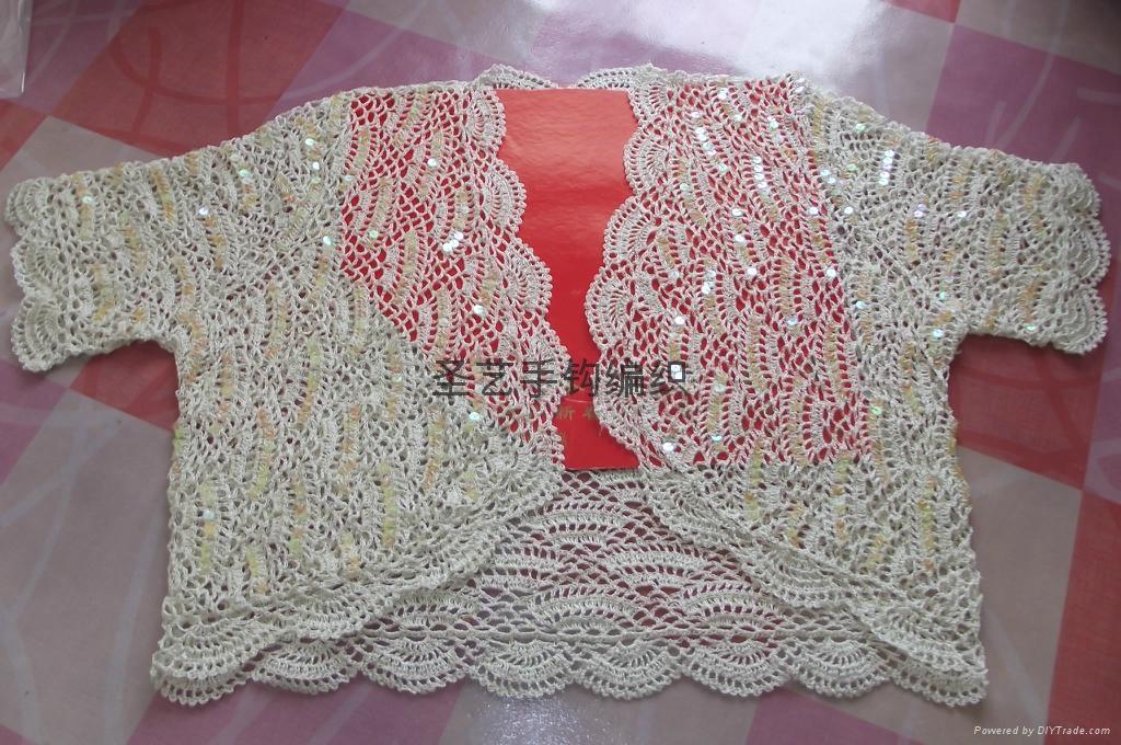 手工鉤針編織毛衣 1