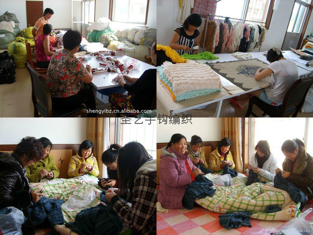 手工鉤針編織毛衣 3