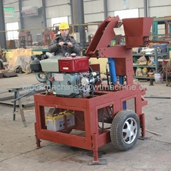 WT1-20 hydraform ibterlocking brick machine