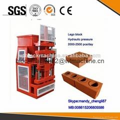 WT1-10 automatic interlocking brick making machine