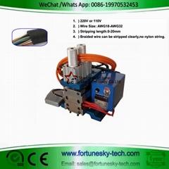 Pneumatic Core Wire Hot Stripping Machine LL-3FA