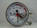 上海精普儀錶廠電接點壓力表