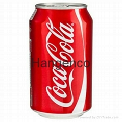 Best-Selling Coca Soft Drink 330ml Can