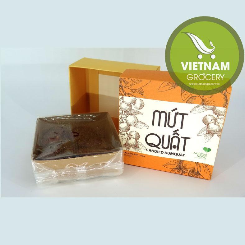 Natural Delicious Vietnamese Candied Kumquat 150Gr