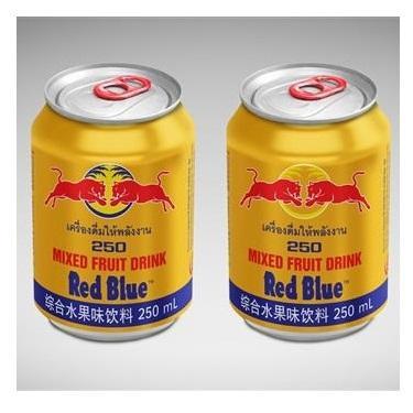 Good Price Redblue Energy Drink 250ML/ Red Blue Energy Drink 250ML