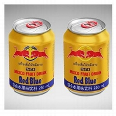 Good Price Redblue Energy Drink 250ML/ Red Blue Energy Drink 250ML