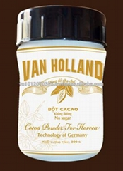 Vietnam No Sugar Van Holland Cacao Powder 300Gr FMCG products