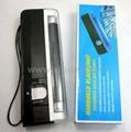 Handheld blacklight UV + white lamp