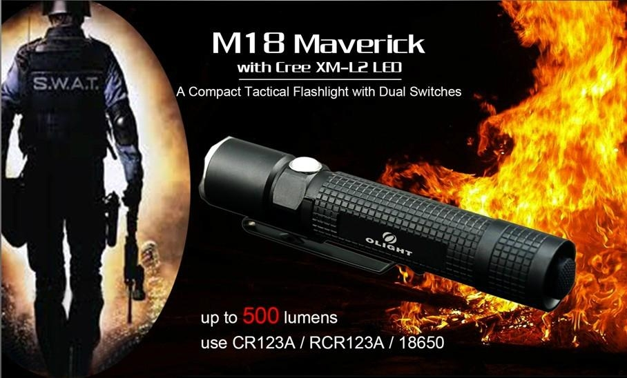 Olight  M18 Maverick led flashlight 1