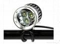 1200LM 4-Mode 3 x CREE XM-L T6 LED Bike