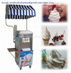 Frozen Yougurt Soft Ice Cream Machine BQL933A