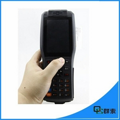 Bluetooth thermal mobile printer wifi 3g android barcode scanner pda