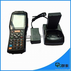 Rugged android PDA wireless handheld mobile pos terminal with printer,3G,wifi,ba