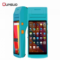 All in one industrial PDA Android mobile touch screen pos terminal