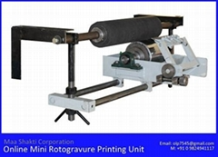 Single Color MINI Rotogravure Printing Machine