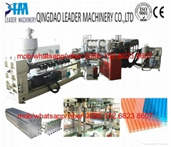 PC polycarbonate hollow grid sheet/sunshine panel extrusion line