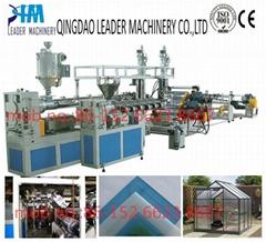 PMMA acrylic sheet extrusion line
