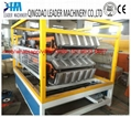 PVC ASA glazed roofing tiles/sheet extrusion line  3