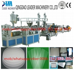 PMMA light guide sheet/plate extrusion line
