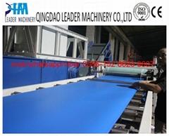 ABA type PP stationery foam sheet/board extrusion machine