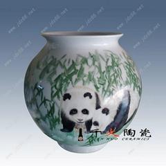 景德鎮家居擺件新彩陶瓷