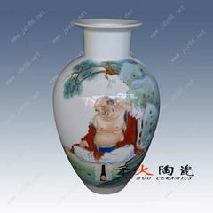 景德鎮新彩陶瓷花瓶