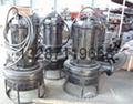 耐磨潜水排砂泵