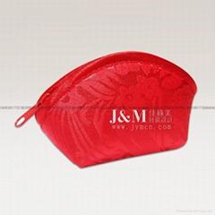 Arc zipper bag