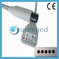 Din 5 Lead ECG trunk cable