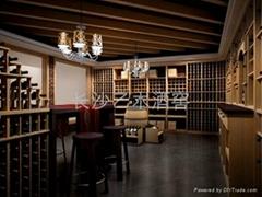 長沙實木紅酒架