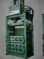 深圳文邦60吨立式油压打包机