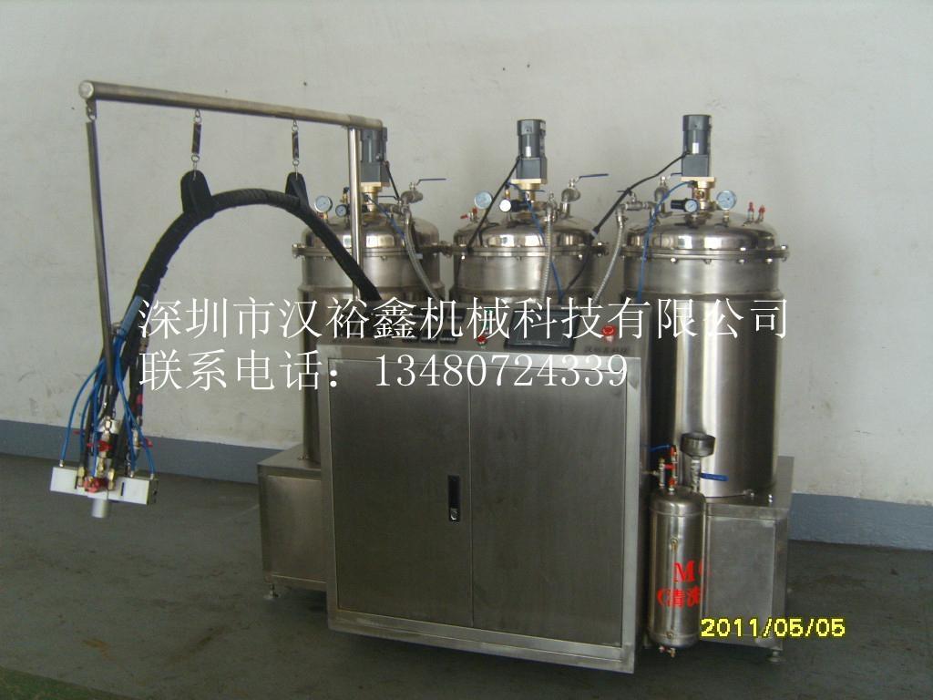 高性能双色自动PU微量灌注机 1