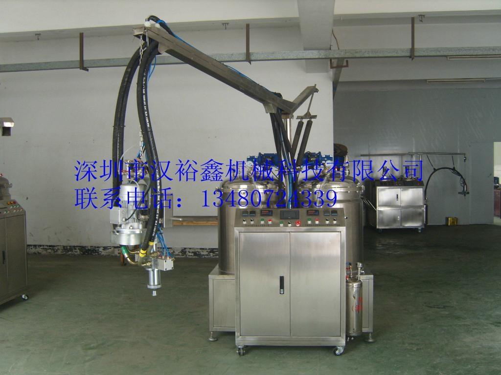 仿木线条聚氨酯发泡机 1