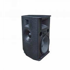 18'' full range outdoor speaker built-in 12'' monitor speaker