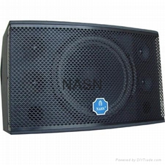 "single 12"" two-way full range speaker KTV system KO1000 for pa system"